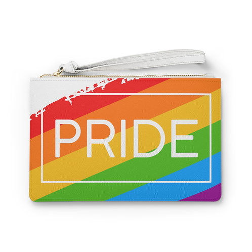 2021 Pride Vegan Leather Clutch Bag