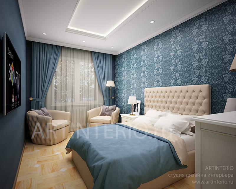 спальня в загодном доме