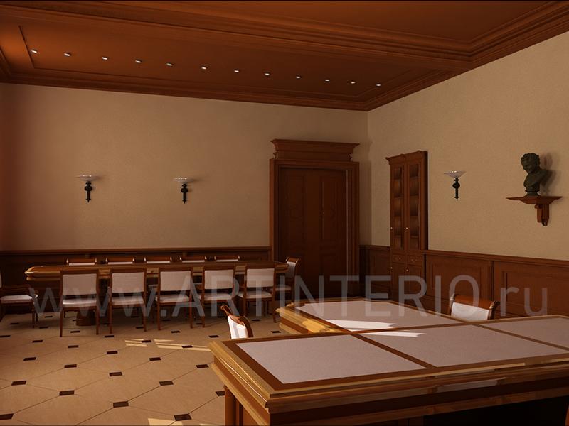 кабинет в Смольном.