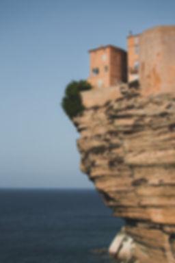 Bonifacio cliff citadel