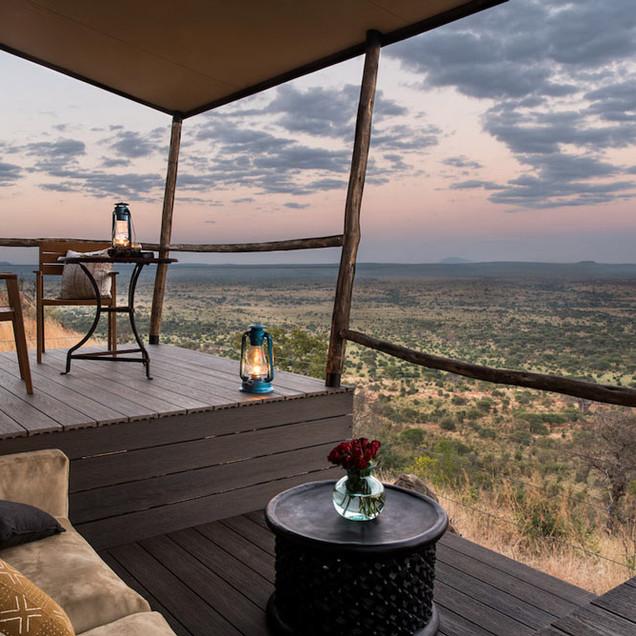 Lemala Mpingo Ridge Tented Lodge
