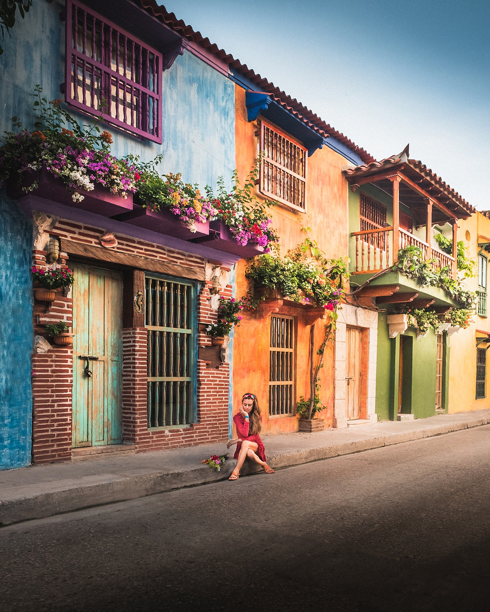 South America Bucket List Cartagena Streets