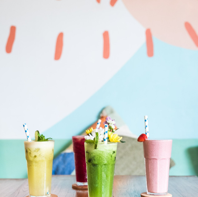 Smoothies for everyone!