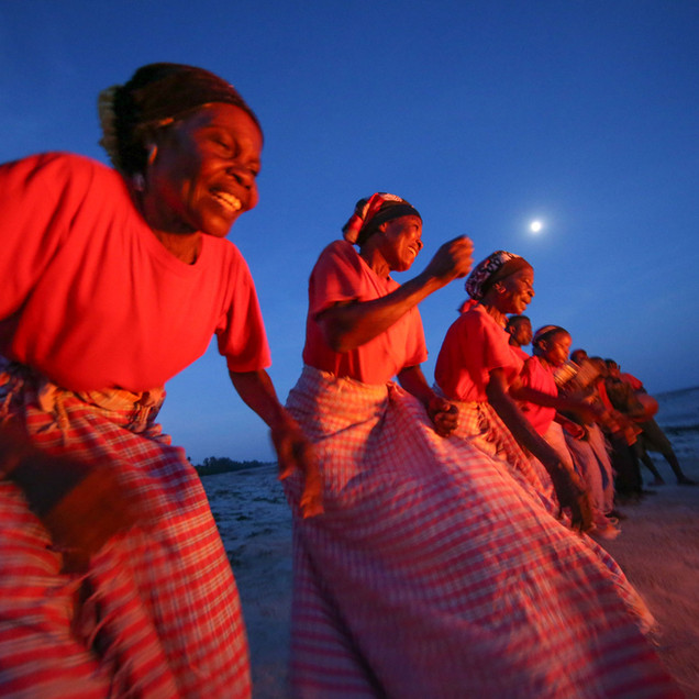 Women performing a traditional dance