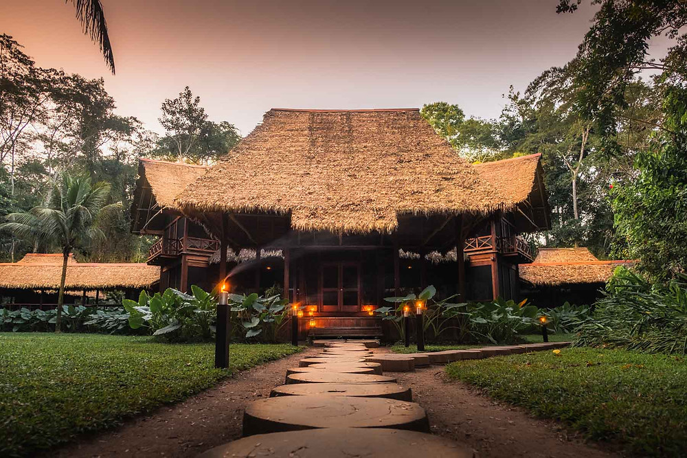 5 best luxury hotels in Peru Inkaterra Reserva Amazonica
