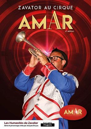 Zavator au cirque Amar (ISBN : 978-2-38019-040-3)