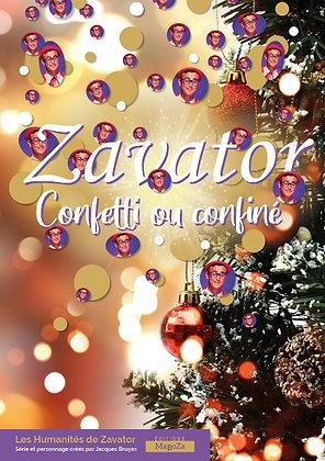 Zavator - Confetti ou confiné (ISBN : 978-2-38188-011-2)