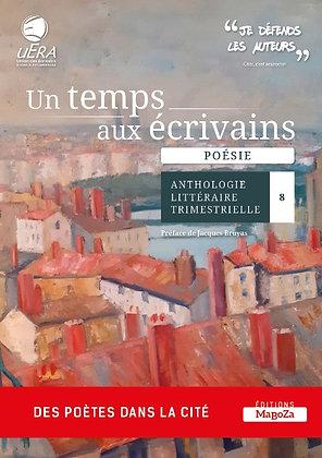 Un temps aux écrivains n°8 (ISBN : 978-2-38019-066-3)