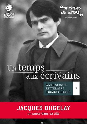 Un temps aux écrivains n°7 (ISBN : 978-2-38019-064-9)