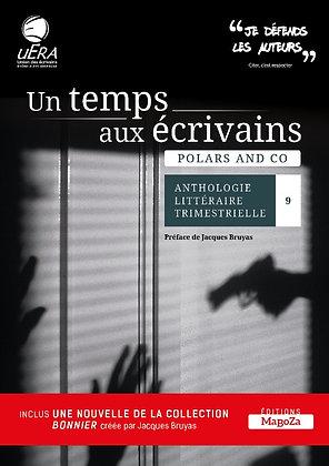Un temps aux écrivains n°9 - Polars and co - (ISBN : 978-2-38019-075-5)