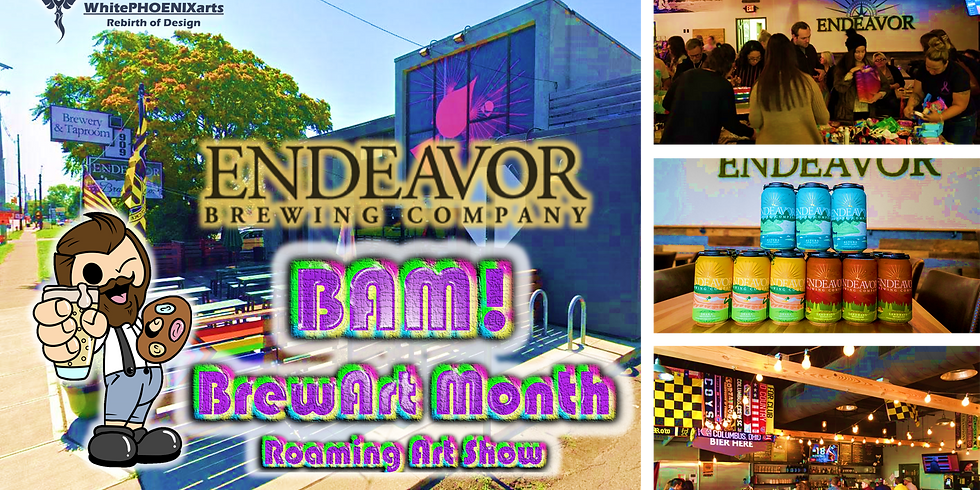 BAM! Kickoff at Endeavor Brewing Co