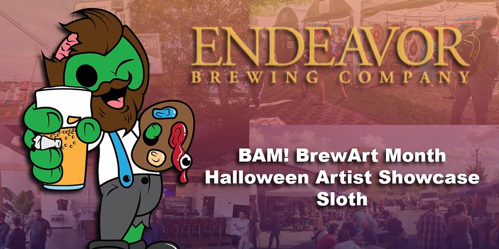 BAM! Endeavor Sloth Art Showcase Featured Artist