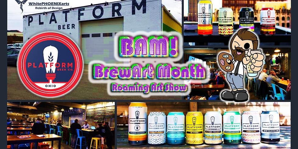 BAM! Celebrating the arts at Platform Beer Co.