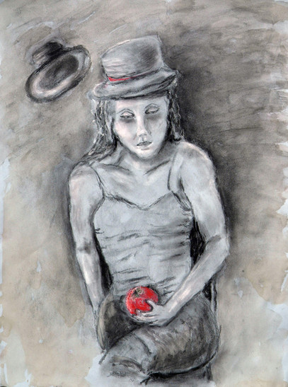 eva with hat & apple.jpg