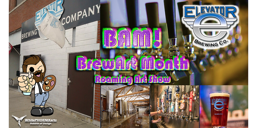 BAM! Art Party at Elevator Brewing Co.