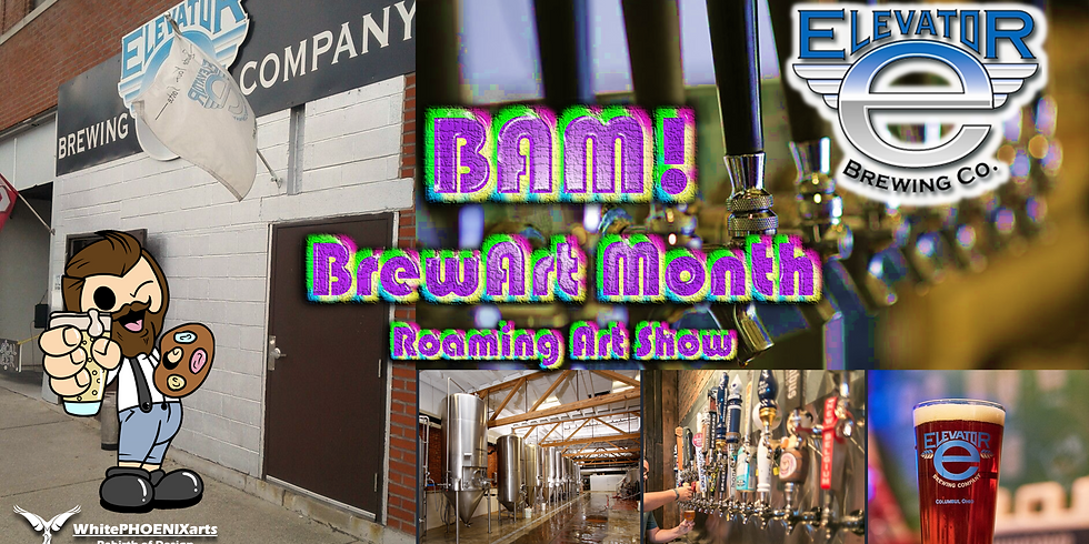 BAM! Art Party at Elevator Brewing Co