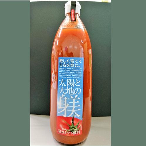 完熟トマト飲料「太陽と大地の躾」1000ml
