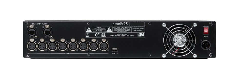 grandMA3 processing M