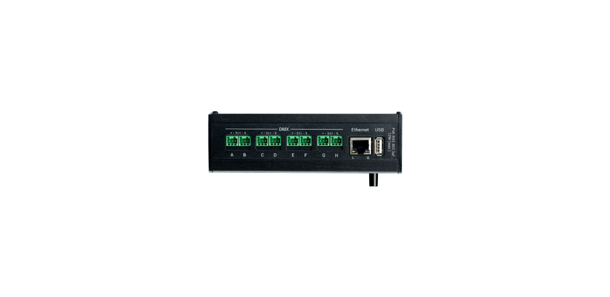 grandMA3 8Port Node DIN-Rail
