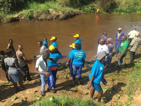 Restoring Ugandan rivers using natural capital