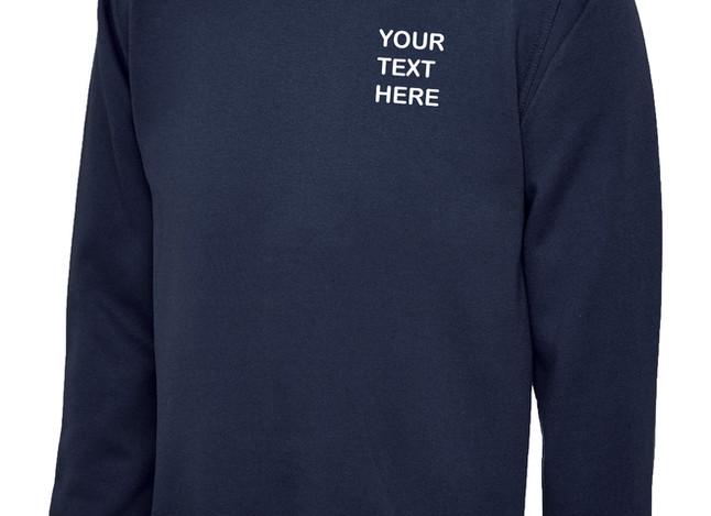 Uneek Navy Blue Sweatshirt