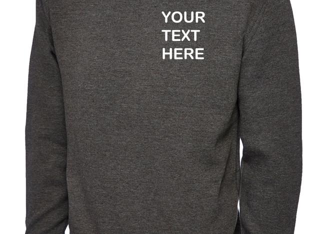 Uneek Charcoal Grey Sweatshirt