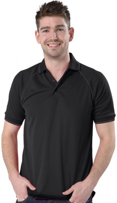 Black/Graphite Grey Polo shirt