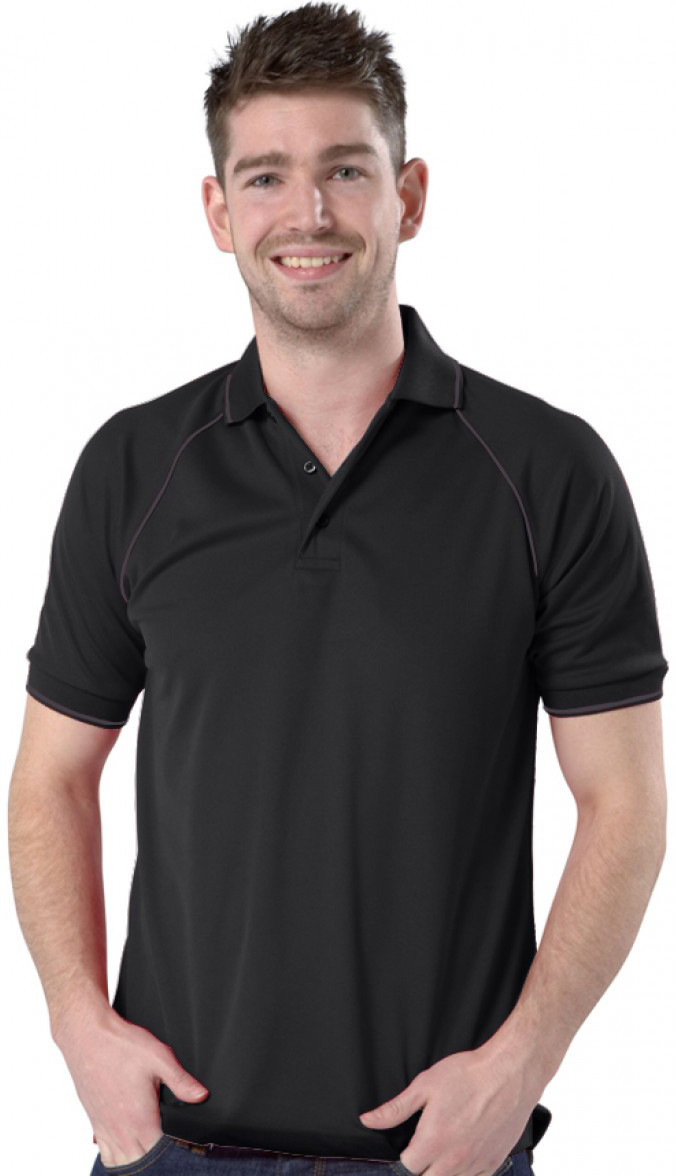 Black/Graphite Grey Polo shirt