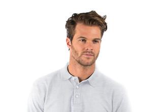 Heather Grey Polo Shirt