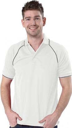 White/Graphite Grey Polo Shirt