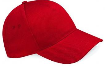 Classic Red Baseball Cap