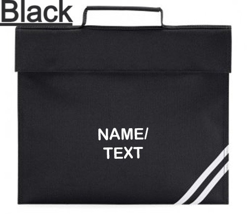 Personalised Bookbags, 7 Colours!!!!