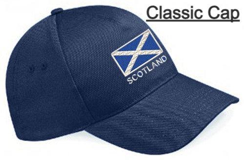 Embroidered Scotland Baseball Caps