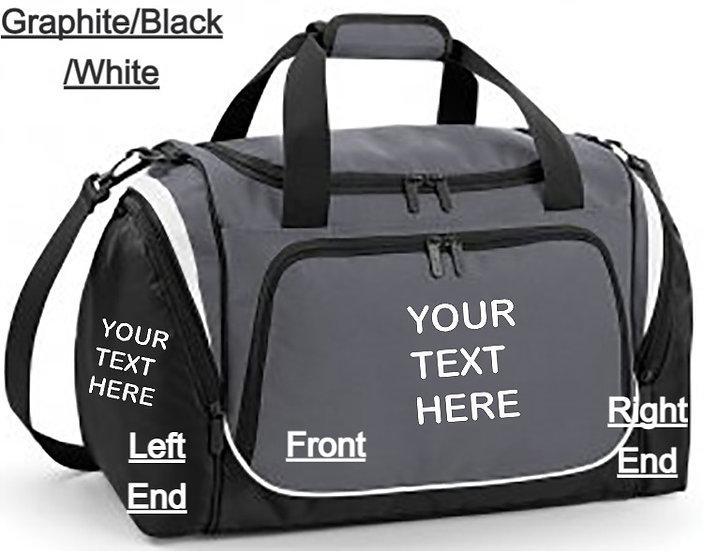 Personalised Quadra Pro Team Locker Bag, 2 Colours!!!