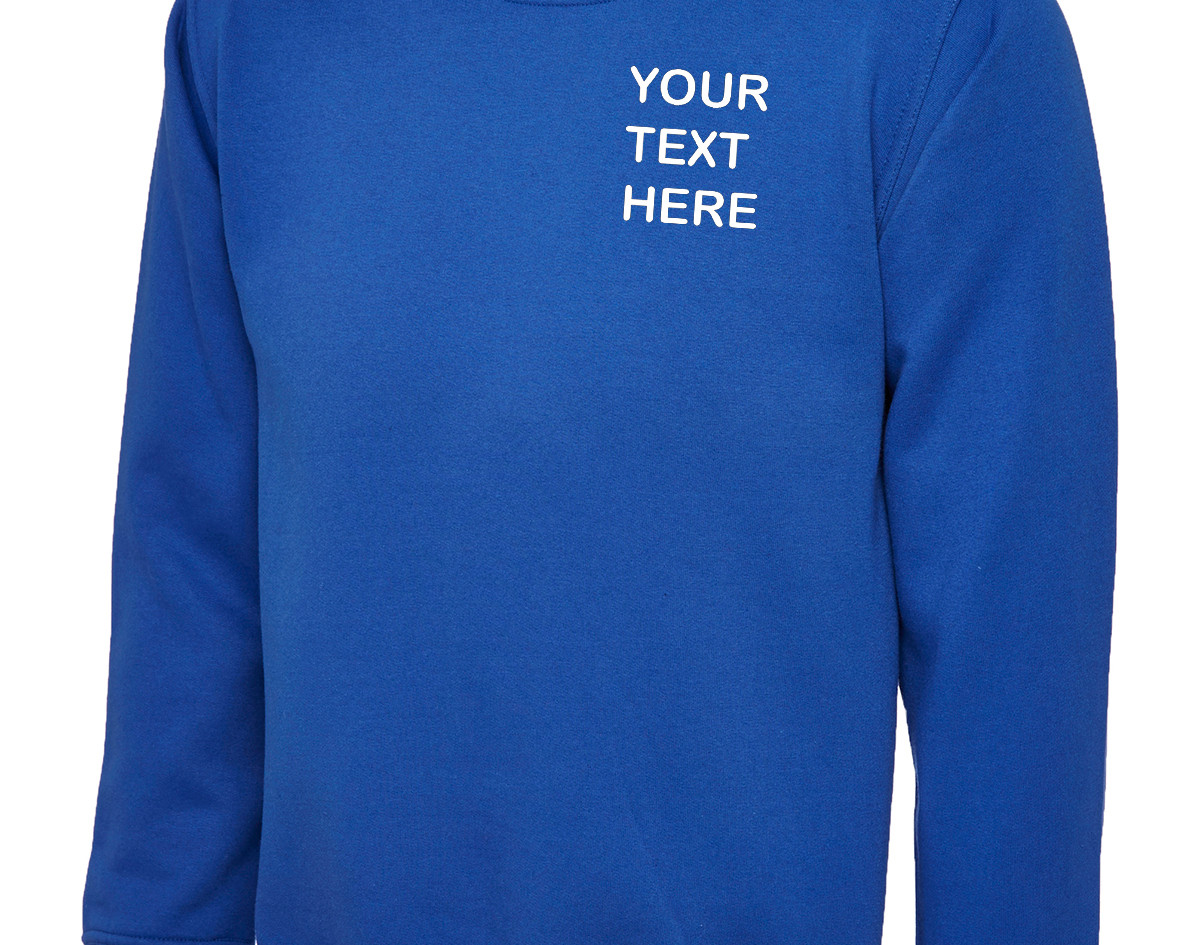 Uneek Royal Blue Sweatshirt