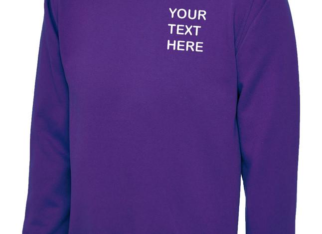 Uneek Purple Sweatshirt