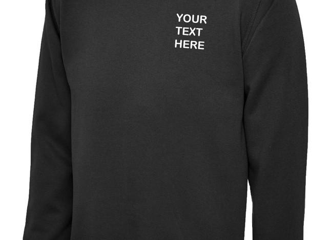 Uneek Black Sweatshirt