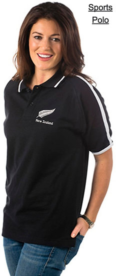 Embroidered New Zealand Polo Shirt