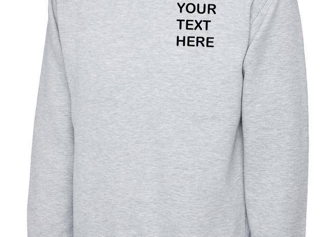 Uneek Heather Grey Sweatshirt
