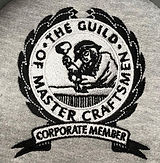 Photo of the badge embroidery for the guild of master craftsmen