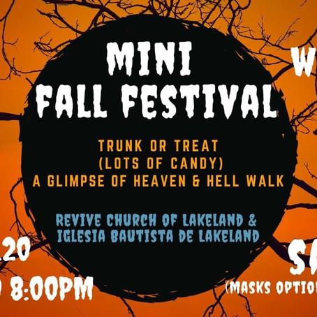 Mini Fall Festival