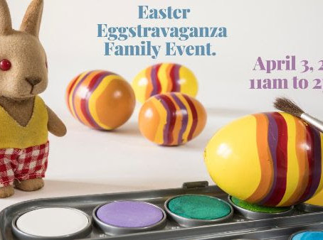 You're Invited! Are you ready for Eggstravaganza?
