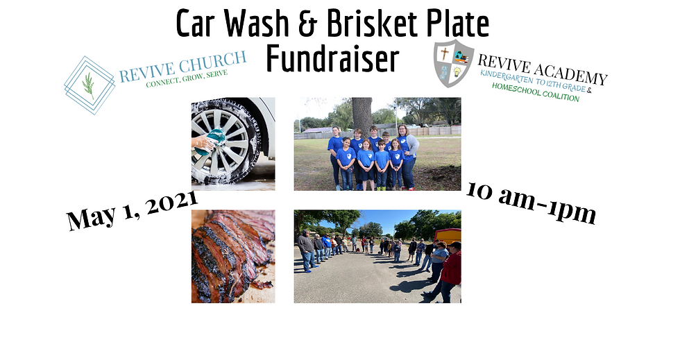 Car Wash & Brisket Plate Fundraiser