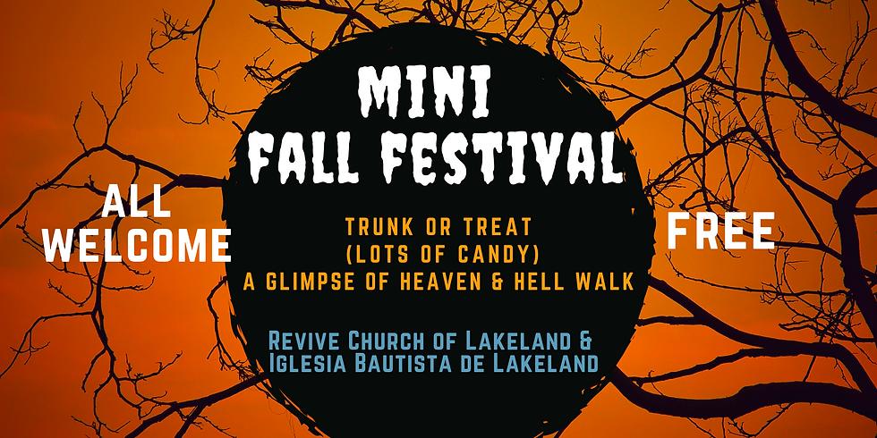 Mini Annual Fall Festival