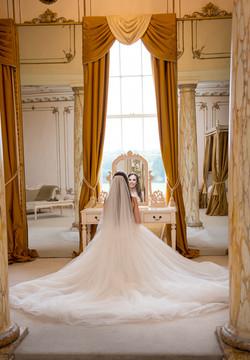 Bride's moment