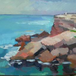 rocks and sea, Califat
