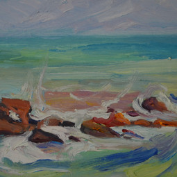 Rocks and Sea No1, Sitges