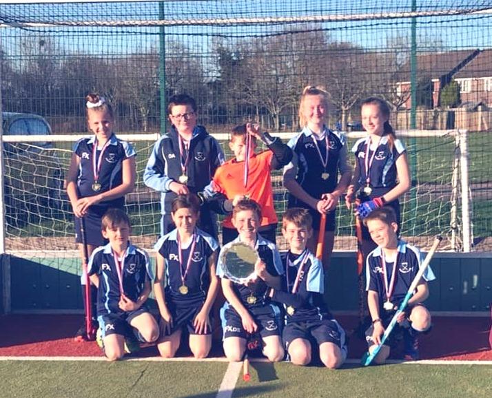 U12s Winners of Avon League