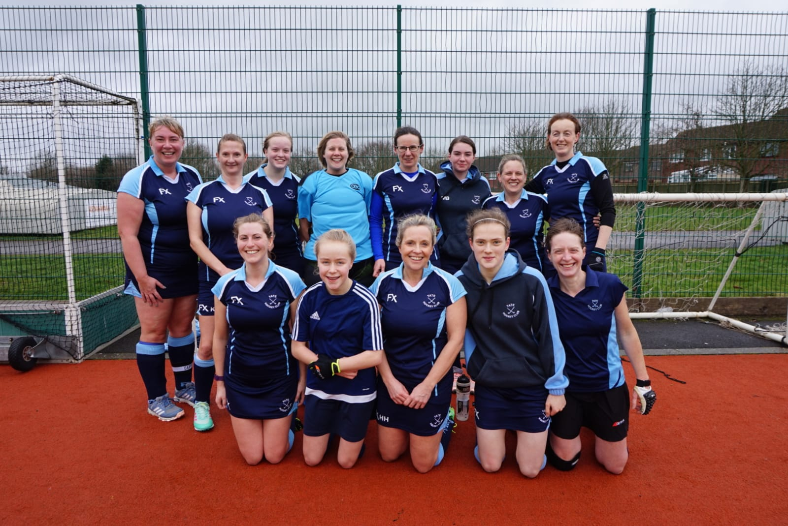 Ladies 3rd team following victory over O