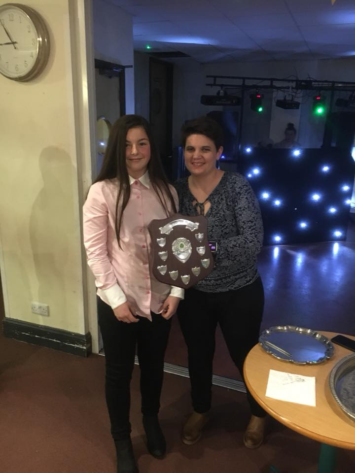 Ladies Most Improved Player 2018